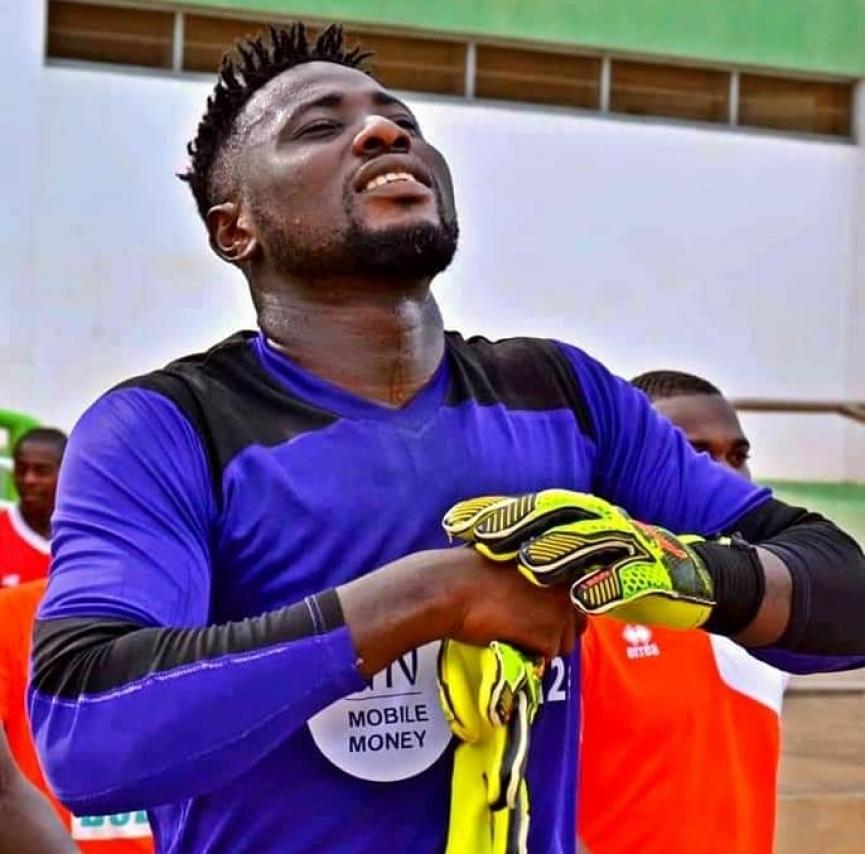 Goalkeeper Richard Attah says goodbye to Elmina Sharks