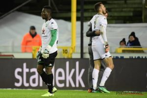 Photos: Ghana's Donsah plays as goalkeeper for Cercle Brugge against Genk