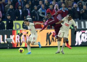 Ghanaian striker Caleb Ekuban returns from injury to feature for Trabzonspor against Galatasaray