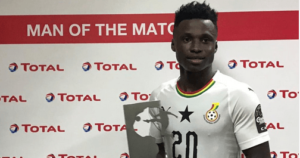 Evans Mensah hopes for Black Stars call up