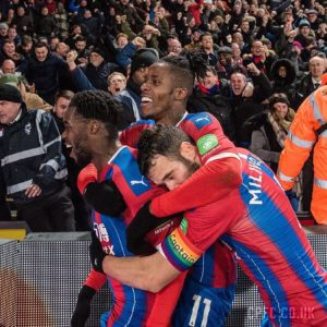 Schlupp praises teamwork of Crystal Palace players in their win against Bournemouth on Tuesday