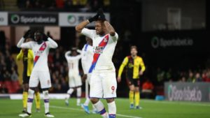Ghanaian striker Jordan Ayew features as Crystal Palace claim a point at Watford