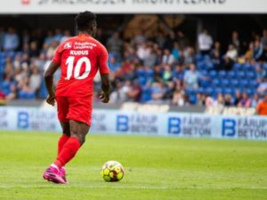 FC Nordsjælland manager marks Mohammed Kudus to succeed in the EPL
