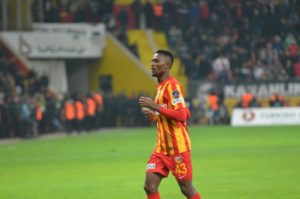 Ghanaian midfielder Bernard Mensah rescues point for Kayserispor at Ankaragucu