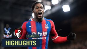 VIDEO: Schlupp strikes to hand 10-man Palace victory over Bournemouth
