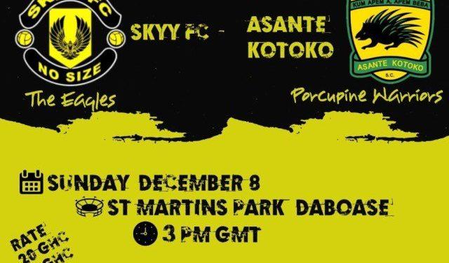Pre-season friendly: Skyy FC to welcome Kotoko next weekend