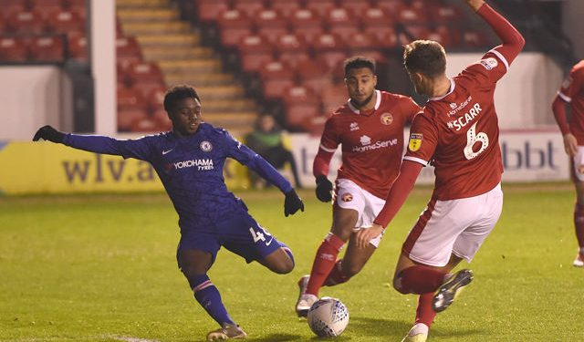 Tariq Lamptey scores double in Chelsea's defeat to Walsall