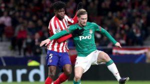 Thomas Partey shines as Atletico Madrid progress to UCL knockout phase