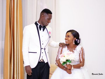 Medeama captain Joseph Tetteh Zutah ties knot with Doris Agyarkoh [PICTURES]