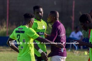 2019/20 GHPL Match Report: Dreams FC and Legon Cities FC play out goalless draw in Dawu