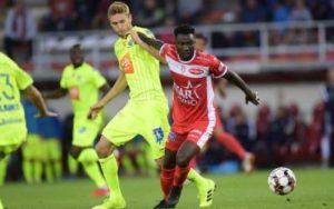 Ghanaian striker Jonah Osabutey on target in Royal Excel Mouscron's defeat to Gent