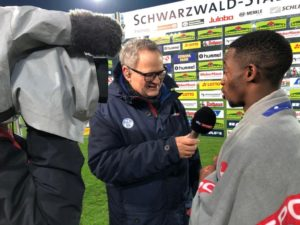 SC Paderborn winger Christopher Antwi-Adjei heaps praise on teammates after Freiburg win