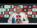 LIVE: Zidane's pre-SevillaFC press conference from Real Madrid City!