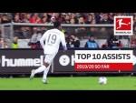 Top 10 Best Assists 2019/20 So Far - Coutinho, Sancho, Alario & More