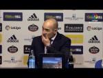 Rueda de prensa de  Paco Jémez tras el SD Ponferradina vs Rayo Vallecano (1-1)