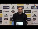 Rueda de prensa de  Jon Pérez Bolo tras el SD Ponferradina vs Rayo Vallecano (1-1)