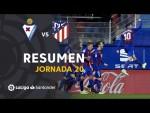 Resumen de SD Eibar vs Atlético de Madrid (2-0)