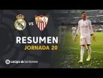 Resumen de Real Madrid vs Sevilla FC (2-1)