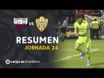 Resumen de Extremadura UD vs UD Almería (1-2)