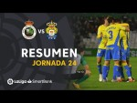 Resumen de Real Racing Club vs UD Las Palmas (1-1)