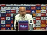 Rueda de prensa de Javier Rozada tras el Real Oviedo vs SD Huesca (1-1)
