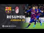 Resumen de FC Barcelona vs Granada CF (1-0)