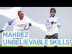 MAHREZ CHEWING GUM VOLLEYS?! | Post Sheffield United Training