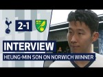 INTERVIEW | HEUNG-MIN SON ON NORWICH WINNER | Spurs 2-1 Norwich City
