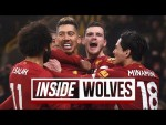 Inside Molineux: Wolves 1-2 Liverpool | TUNNEL CAM