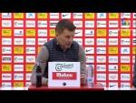 Rueda de prensa de  Djukic tras el Real Sporting vs CF Fuenlabrada (1-0)