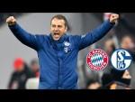 Topspielsieg und Teamgeist | Pressekonferenz mit Hansi Flick nach FC Bayern - Schalke 04