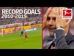 Top 10 Best Record-Breaking Goals of The Decade 2010-2019 - Lewandowski, Volland, Alcacer & More