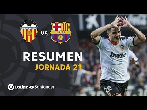 Resumen de Valencia CF vs FC Barcelona (2-0)