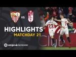 Highlights Sevilla FC vs Granada CF (2-0)