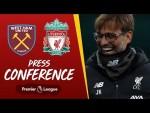 Jürgen Klopp's pre-match press conference | West Ham