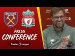 Jürgen Klopp's pre-West Ham press conference
