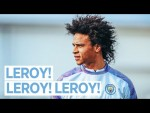 LEROY SANE TRAINS WITH THE TEAM | Man City Training