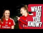 Vivianne Miedema v Lisa Evans | What Do You Know?