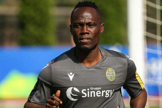 Agyemang Badu wants to do his best to help Hellas Veron after recovering from his illness