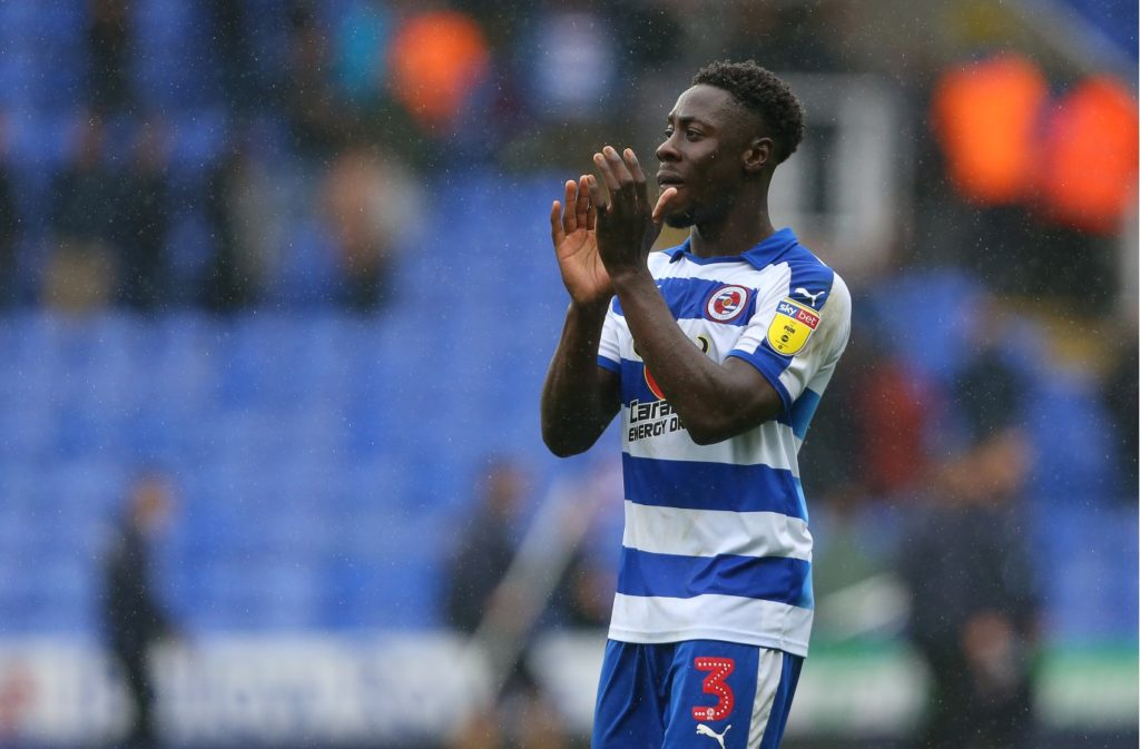 Ghanaian defender Andy Yiadom remain a doubt for Reading ahead of Blackpool match this evening