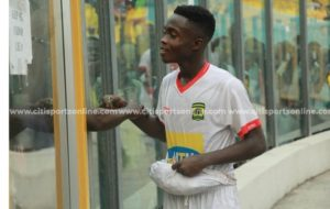 Asante Kotoko youngster Anim Cudjoe set sights on playing for Black Stars soon