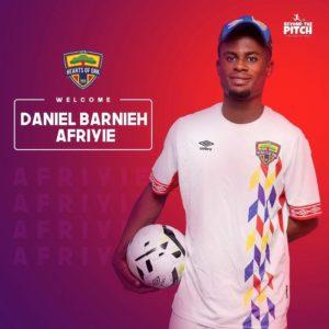 Hearts of Oak confirm signing of Daniel Barnieh