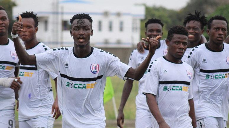 2019/2020 Ghana Premier League Match Week 5 - Inter Allies 1-1 WAFA SC