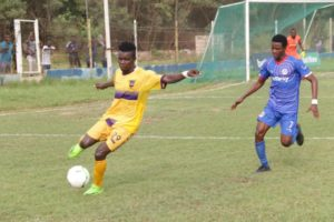 2019/20 Ghana Premier League: Medeama SC record 1-1 draw with Liberty to maintain unbeaten run
