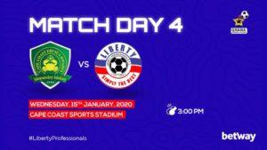 Ghana Premier League matchday 4 preview: Ebusua Dwarfs v Liberty Professionals