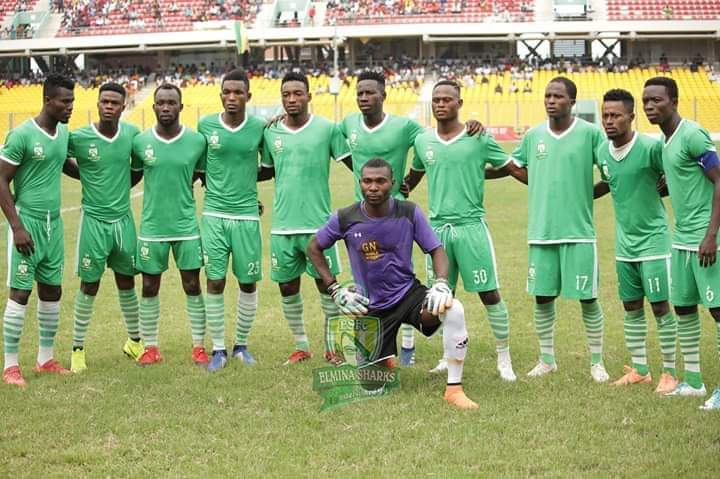 2019/20 GHPL Match Report: Elmina Sharks held to goalless draw by injury-hit WAFA
