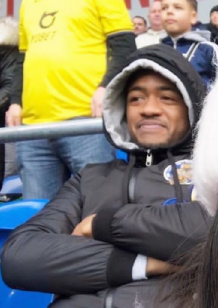 Jordan Ayew spotted in the stands watching brother Ayew in action against Cardiff City