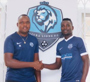 DOL side Accra Lions FC complete signing of Hamidu Abdul Fatawu