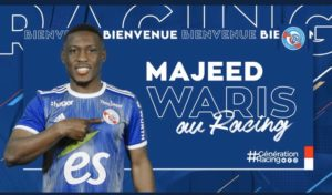 Ghanaian striker Majeed Waris marks Strasbourg debut against AS Monaco