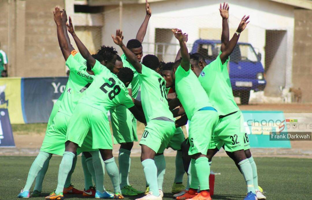 2019/20 GHPL Match Report: Prince Adu Kwabena scores as Bechem United beat Great Olympics